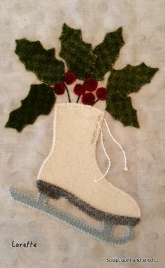 Scrap,quilt and stitch: Esprit de Noël