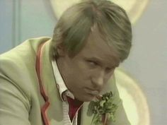 doctor who classic who fifth doctor over your shit
