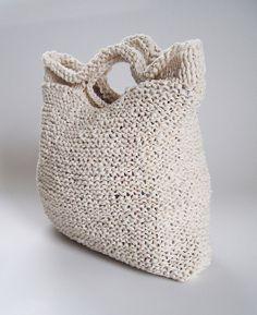 Knit Cotton Bag