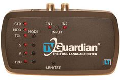 "TVGuardian LT  ""The TVGuardian Mutes Foul Language From TV Shows and Movies."""