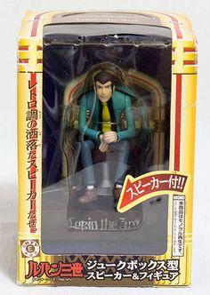 Lupin the 3rd Jukebox Type Speaker&Figure Banpresto JAPAN ANIME MANGA