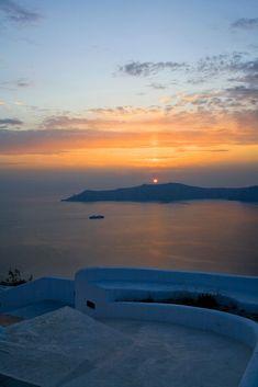 Sunset from Imerovigli, Santorini