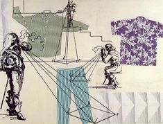 Measuring Clothes, 1994 © Sigmar Polke