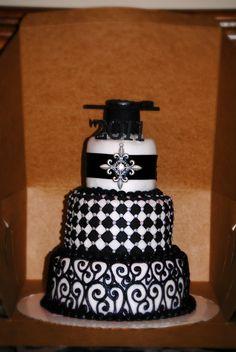 graduation cake made by Beth