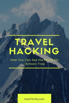 Want to know how to travel for free? Check out our beginner's guide to travel hacking and learn how you can travel the world for pennies on the dollar. Free Travel, Budget Travel, Travel Advice, Travel Tips, Travel Hacks, Travel Ideas, Travel Money, Travel Stuff, Travel Destinations