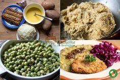 KARBANÁTKY Z TEMPEHU A CELERU Tempeh, Tofu, Fritters, Grains, Rice, Vegetarian, Vegan, Cooking, Diet