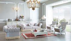 Kral Chester Koltuk Takımı #moda #kadın #pinterest #popüler #evdekorasyon #herşey #koltuk #trend #sofa #avangarde #yildizmobilya #furniture #room #home #ev #white #decoration #sehpa #moda         http://www.yildizmobilya.com.tr/