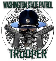 Washington State Patrol Shirt $19.95