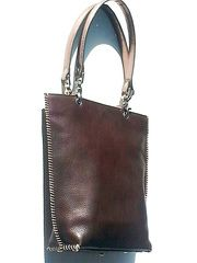 The New Santro Tote Bag Pebble Grain Leather from IMPERIO jp