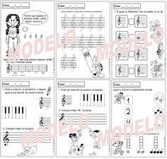 ATIVIDADES DE EDUCAÇÃO INFANTIL E MUSICALIZAÇÃO INFANTIL: Material de música