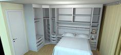O AMBIENTE IDEAL: Dormitório planejado do apê APROVADO e COMPRADO!