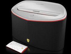 revs up your music with Ferrari Scuderia dock and headphone collection - Bornrich Ipod Dock, Ferrari Scuderia, Ferrari Car, Saint Tropez, Your Music, Car Rental, F1, Monaco, Tech