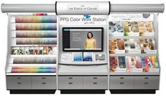 I REJECT - THE VOICE OF COLOR Program of PPG PITTSBURGH PAINTS Brand Announces Digital PPG Color Work Station