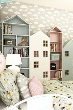Home Bedroom House Design Family Nursery White Property Kids Bedroom Designs, Kids Room Design, Kids Bedroom Ideas, Kids Bedroom Furniture Design, Cool Kids Bedrooms, Family Furniture, Kid Bedrooms, Kids Bedroom Storage, Cool Bookshelves