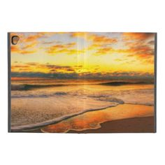 """Vibrant Summer Sunset iPad Pro 9.7"""" Case - outdoor gifts unique cyo personalize"""