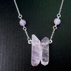 Ametyst Kvarts smykke Dog Tags, Dog Tag Necklace, Lavender, Ring, Jewelry, Fashion, Moda, Rings, Jewlery