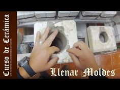 Episodio 2 - Moldes de gesso * Plaster Mold Making (with English Subtitle) Pottery, Messages, Youtube, Wisdom, Doll, Silicone Molds, Sculptures, Cement Pots, Plaster