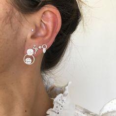 nice little cuties :) earrings & silver > new @ my onlineshop - www.feathery.ch-