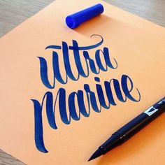 HAND TYPE/////// elegant typography and color