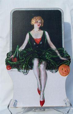 Wonderful vintage Halloween illustration