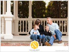 Reno Family Photography at UNR with Reno Family Photographer Matt and Jentry under gazebo