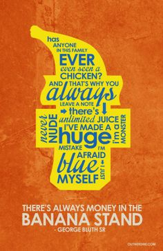 Arrested Development - quote poster