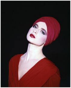 Isabella Rossellini, 1982. Photo: Norman Parkinson.