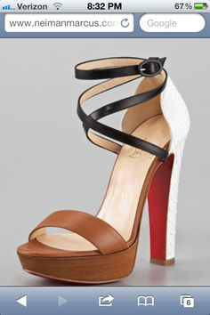 Christian Louboutin is a master
