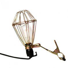 Metal Head Clip Lamp - Wall Lights & Wall Sconces - Lighting