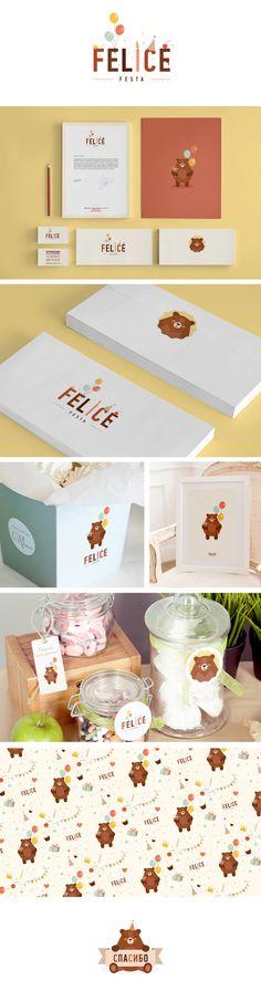 Branding | Graphic Design Felice festa on Behance