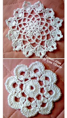 Several small doilies on this site
