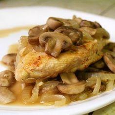 Paprika Chicken with Mushrooms - Allrecipes.com