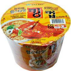 Paldo KingCup Lobster Noodle Soup 3.9 oz