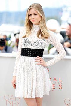 Erin Moriarty au Festival de Cannes 2016