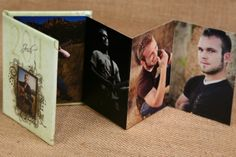 great idea for small photo book (like Jhay's)