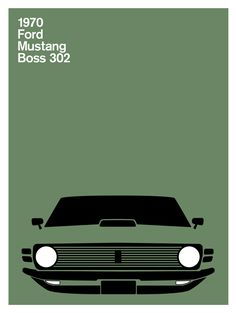 Print Collection - Ford Mustang Boss, 1971