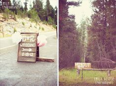 Emily Heizer Photography with Flair Sacramento, CA, Salt Lake City UT, Washington DC Weddings: Ryan & David The Hideout Hand painted wood signage