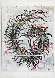 eye of the beholder - heather shimmen Mc Escher, Printmaking, Creepy, Insects, My Arts, Spaces, Eye, Wall, Artist