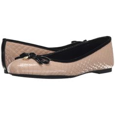 MICHAEL Michael Kors Melody Quilted Ballet Women's Flat Shoes ($125) ❤ liked on Polyvore featuring shoes, flats, ballerina shoes, ballet pumps, bow flats, ballet flat shoes and quilted ballet flats