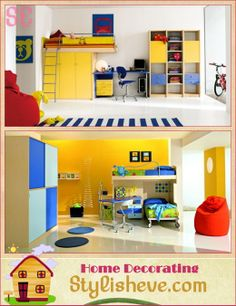 Modern Kids Bedroom Ideas For Small Space