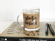 Practice Makes Better Glass Mug 11oz Two Sided Design