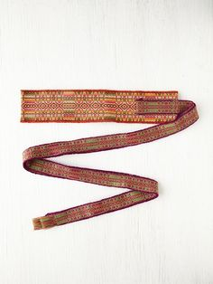 Free People Los Alta Obi Belt, $59.00