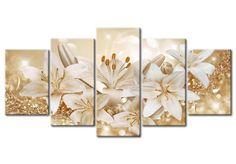 Ve cuadro Golden Bouquet y otras decoraciones en la galería bimago - cuadros acrílicos, trípticos, reproducciones y impresiones en lienzo.
