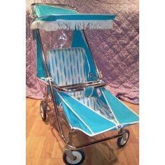 Classic Taylor Tot stroller, circa 1950's - 1960's. Vintage Pram, Vintage Baby Clothes, Retro Baby, Pram Stroller, Baby Strollers, Prams And Pushchairs, Dolls Prams, Baby Buggy, Vintage Nursery