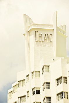 Delano Miami Beach. Love Deco. #FrenchConnection #FCIceCreamSocial