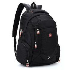 """Men women #swiss gear #15.6"""" laptop macbook backpack rucksack outdoor #school bag, View more on the LINK: http://www.zeppy.io/product/gb/2/321960341224/"""
