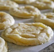 Lemon Crinkle Cookie - winner of best cookie!.