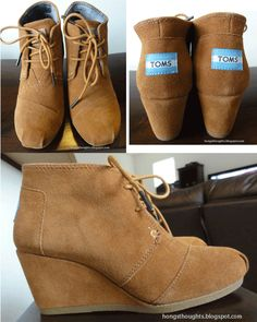 TOMS Wedge. I want these so badly burnout I my size for months