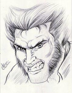 X-Men - Wolverine by filipeoliveira.deviantart.com on @DeviantArt