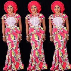 Classy picture collection of Beautiful Ankara Skirt And Blouse Styles These are the most beautiful ankara skirt and blouse trending at the moment. If you must rock anything ankara skirt and blouse styles and design. African Dresses For Women, African Print Dresses, African Print Fashion, African Attire, African Fashion Dresses, African Wear, African Women, African Prints, Ankara Fashion
